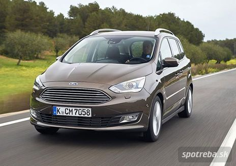 FORD  C-MAX 1.0 EcoBoost 125k Edition X