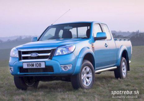 FORD Ranger  2.5 TDCi Double Cab XL 4x4 - 105.00kW