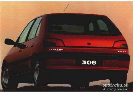 PEUGEOT 306 1.6 XT - 65.00kW [1999]