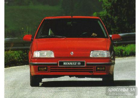 RENAULT R19 Chamade 1.7 GTS - 54.00kW [1990]