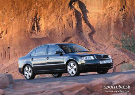 Škoda Superb 1,9TDi (96kW, 2005)
