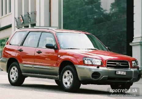 SUBARU Forester 2.0 Adventure - 92.00kW [2002]