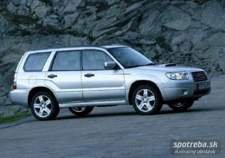 SUBARU Forester 2.5 Exclusive Turbo NAVI - 169.00kW [2005]