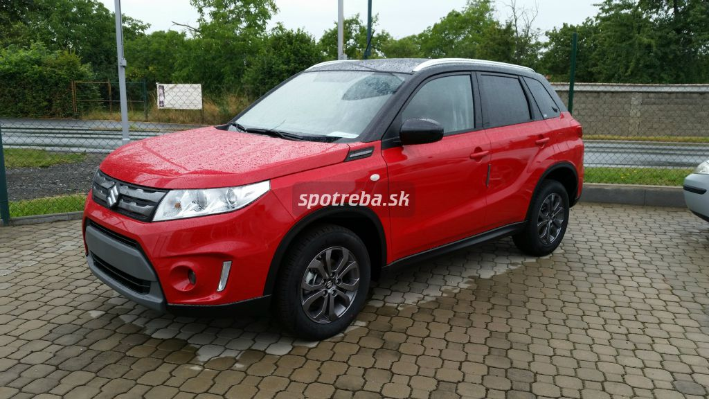 suzuki vitara 1 6 vvt 4wd 5mt premium red black. Black Bedroom Furniture Sets. Home Design Ideas