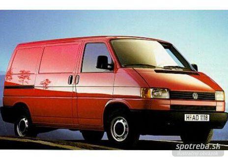 VOLKSWAGEN Transporter 2.4 D KR - 55.00kW [1996]